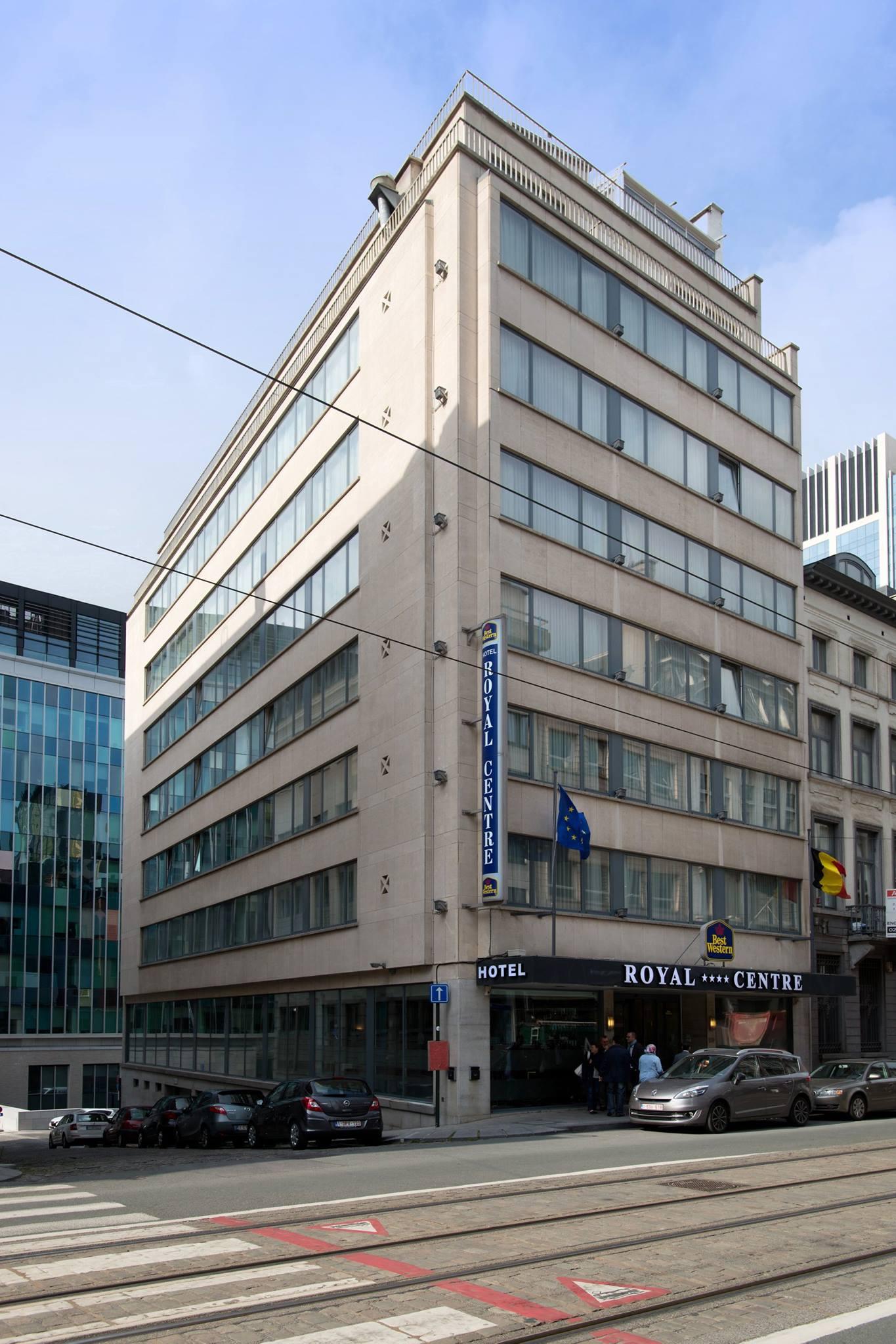 Hotel exterieur rue royal